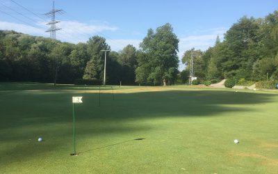 Meine erste Golfstunde