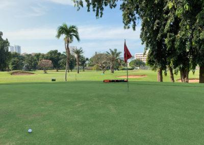 Pattaya Golfplatz - sehr warm!