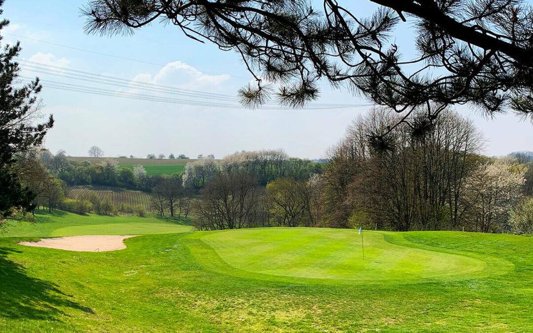Erstes Golfturnier 2019