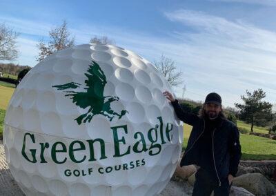 Selfie-Point Green Eagle
