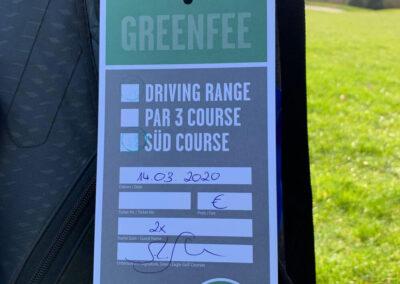 Greenfee Green Eagle